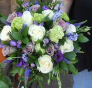 bridal bouquet country style