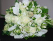 hand tied tuberose bouquet